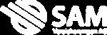 SAM Versicherungen Logo weiss